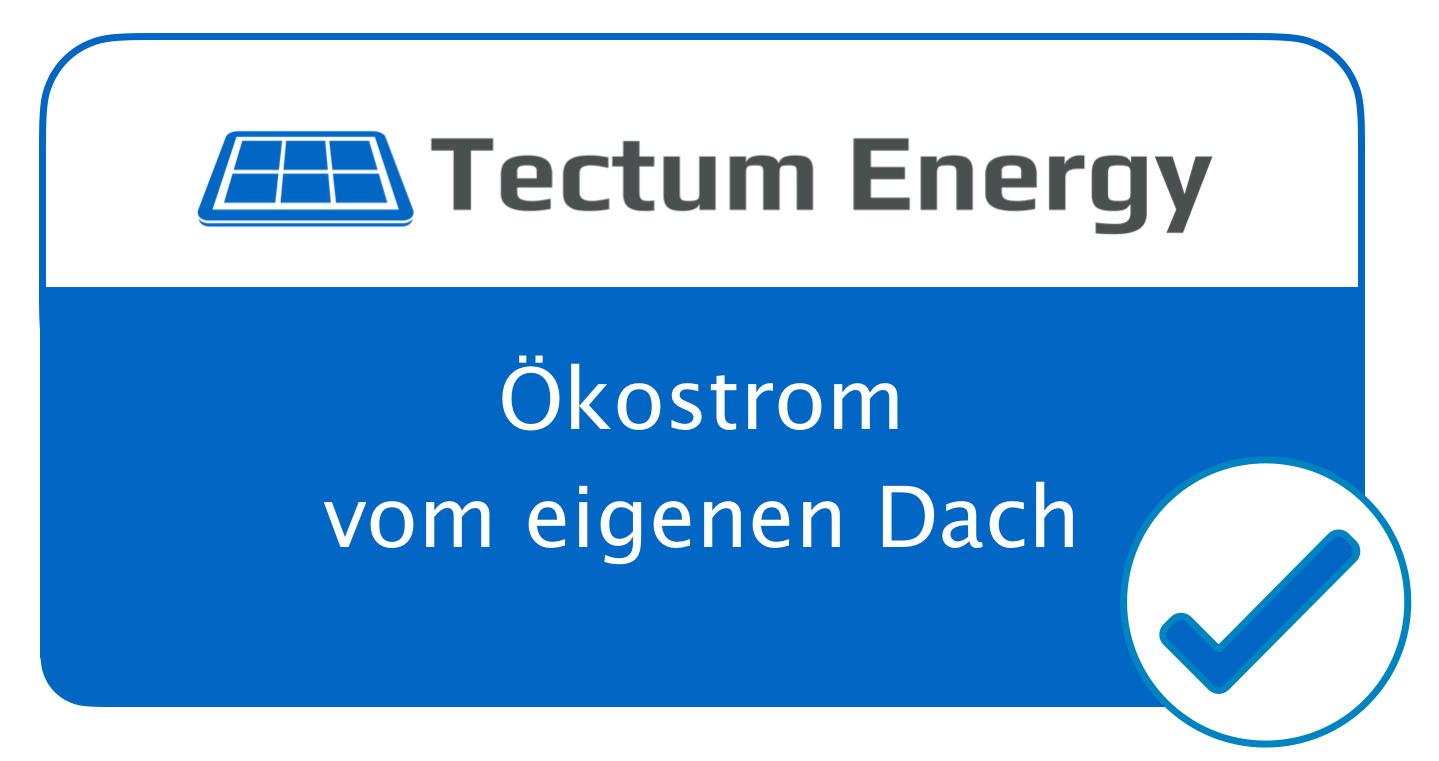 Unser Öko-Siegel zur Kennzeichnung Ihrer Immobilie bezüglich des Angebotes von Solarstrom vom eigenen Dach